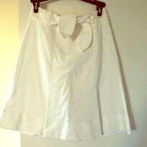 Red Valentino white skirt
